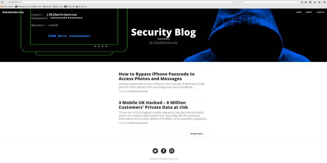 192.168.101.9 443 - Security Blog