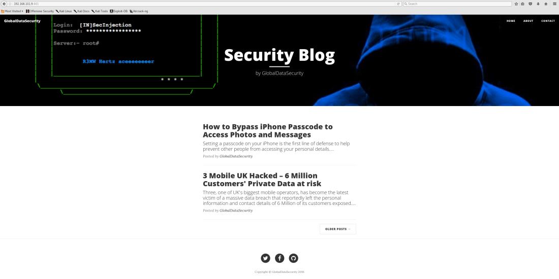 192.168.101.9 443 - Security Blog