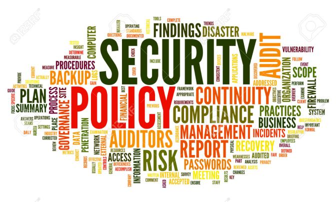 Site Security Policy Development