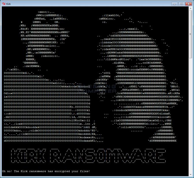 Star Trek – Ransomware Brings us Monero and a Spock Decryptor!