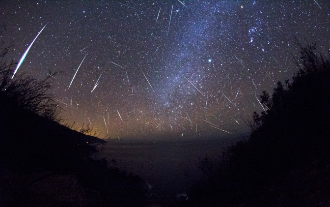 The Orionids Meteor Shower 2017