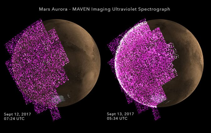 Astronomy Picture of the Day – Global Aurora at Mars
